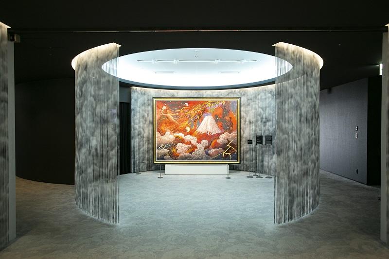 梅田スカイビルの絹谷幸二天空美術館