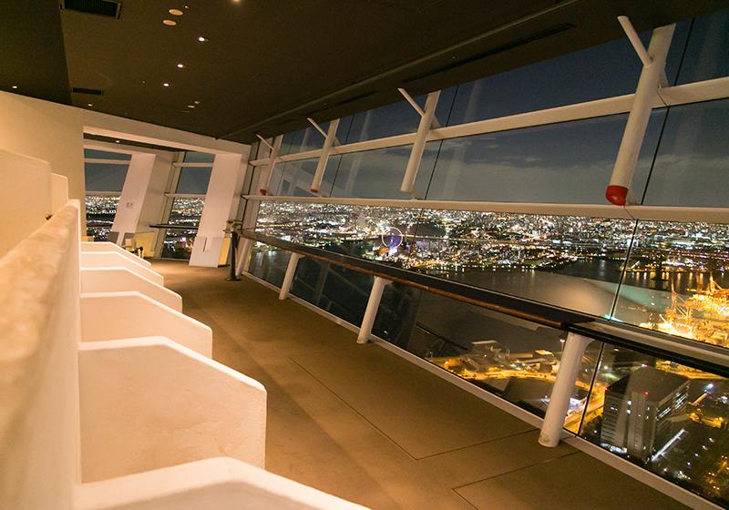 南港にあるさきしまコスモタワー展望台