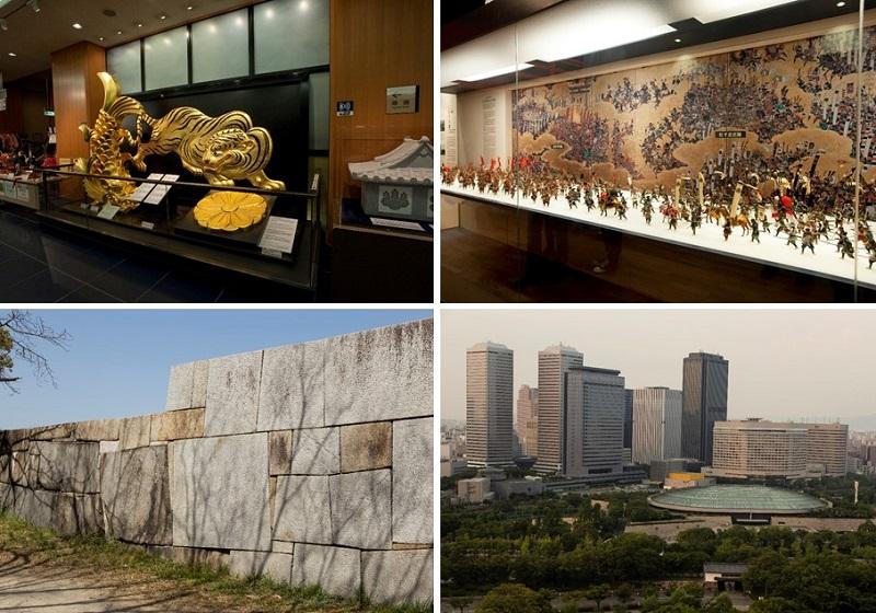スケールの大きい大阪城は1日遊べる博物館