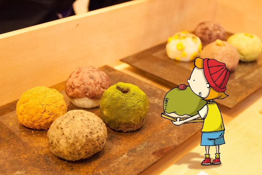 北新地の和菓子屋さん森のおはぎ