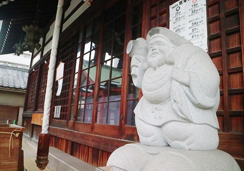 金運アップの種銭が有名な大国主神社
