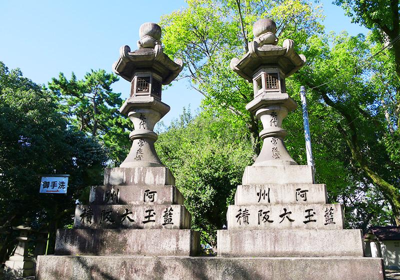 住吉大社の石灯籠
