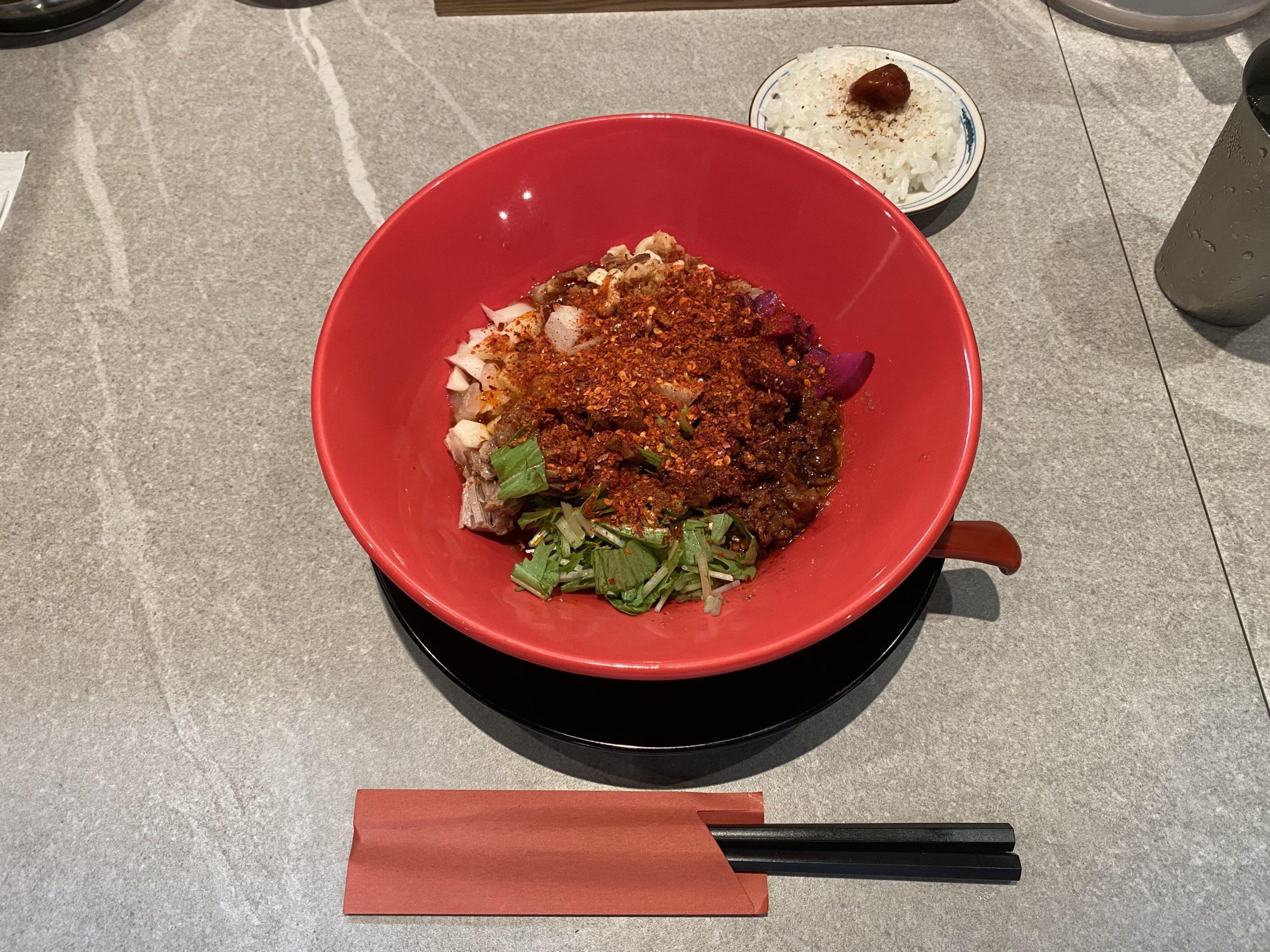 ミシュラン受賞担々麺+ダイブめしセット
