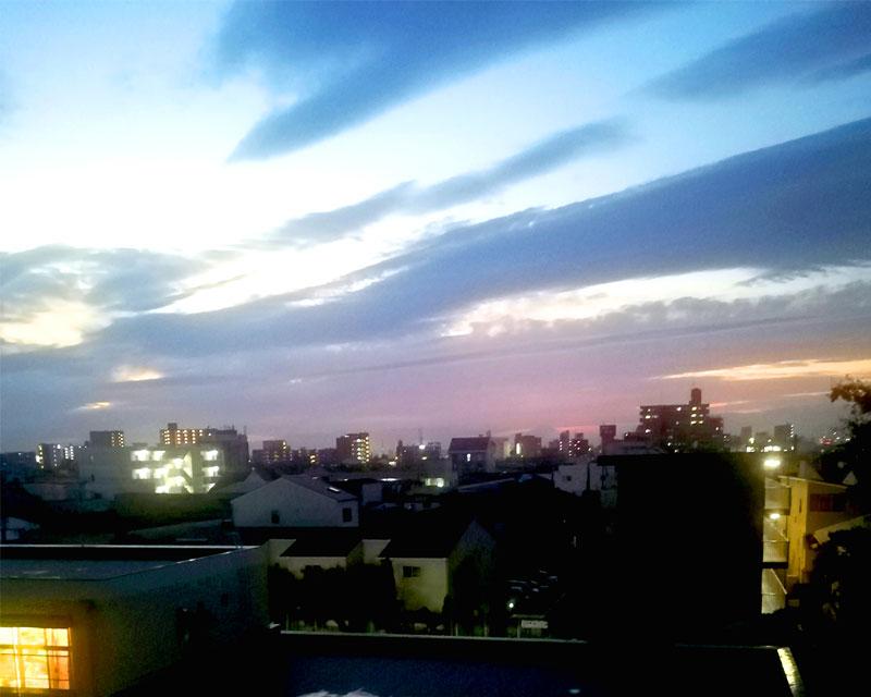 西成の景色一望