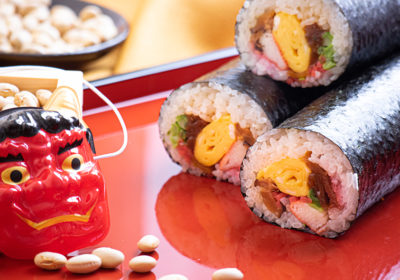 Sushi! And demons! And beans! Oh my! <br> Setsubun