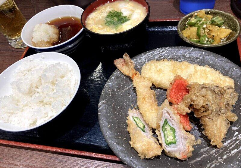 天ぷら大吉 ホワイティうめだ店のレディースセット