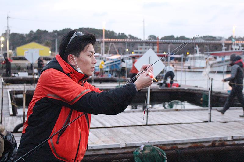 釣りはタナ取りが大切