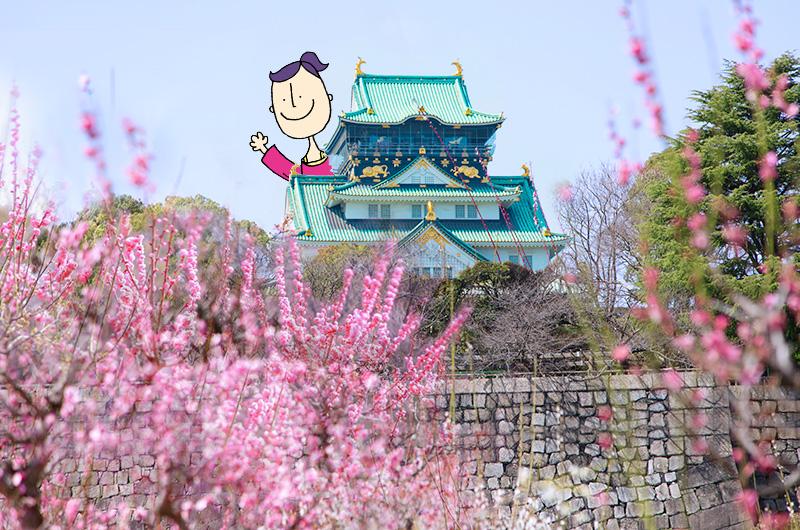 大阪城摄影景点推荐梅花林