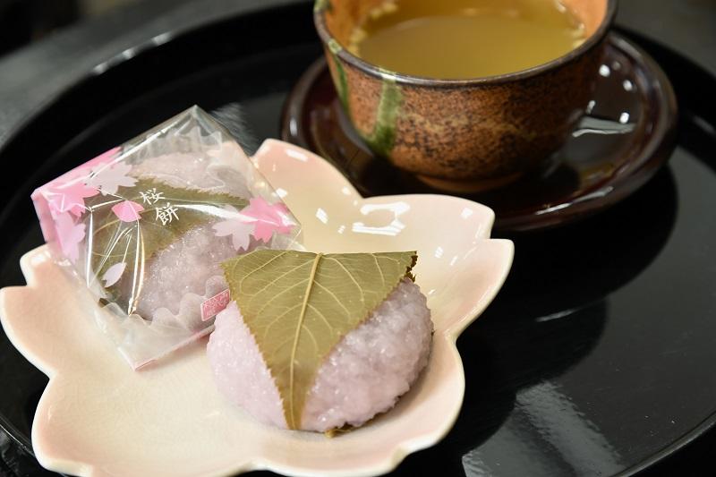 春にぴったり!青木松風庵の桜餅
