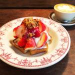 HOOD by Vargasのいちごのティラミストースト