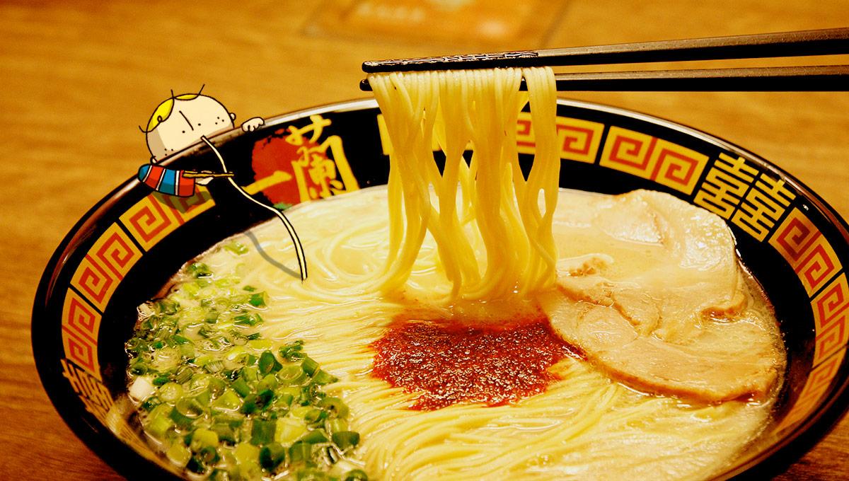 一蘭ラーメンとOsaka Bob