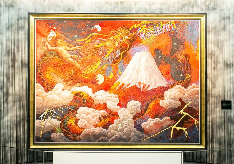 絹谷幸二 天空美術館の展示物