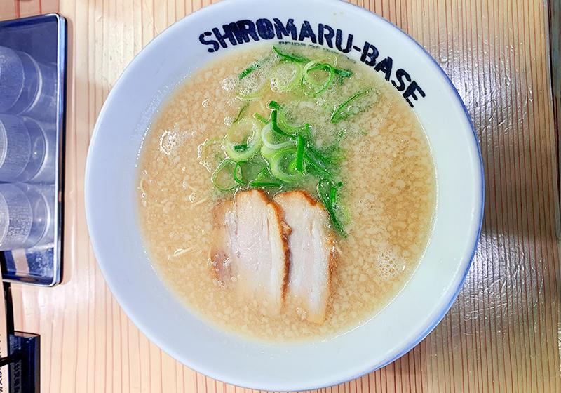 一風堂 SHIROMARU-BASEのシロマルベース