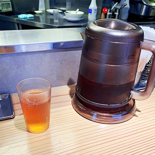 一風堂 SHIROMARU-BASEのウーロン茶