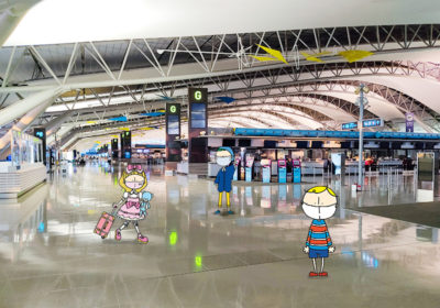 Traveling abroad during COVID: A report from Kansai International Airport