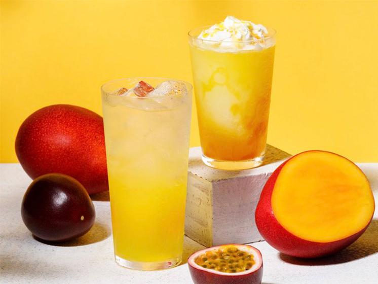 レモネード バイ レモニカのパッションフルーツとマンゴーのレモネード