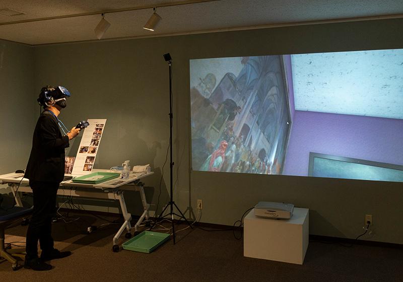 堺ミュシャ芸術博覧会でVR体験できる「スラヴ叙事詩」