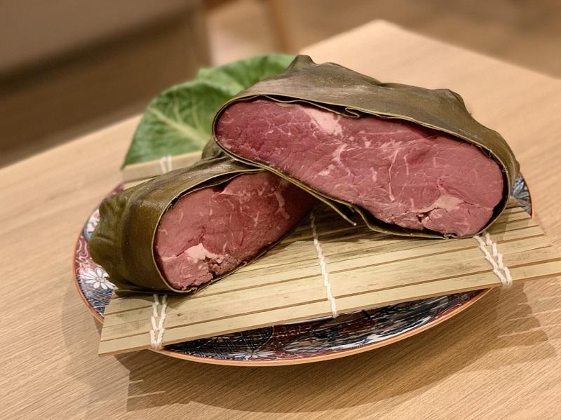 ビフテキ重専門店「牛ノ福」の熟成肉