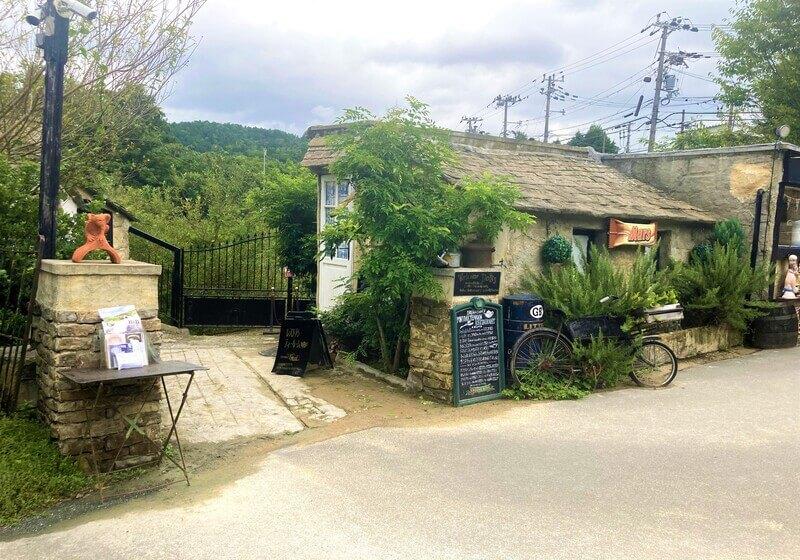 京都亀岡のイギリス村 ドゥリムトン村 入り口