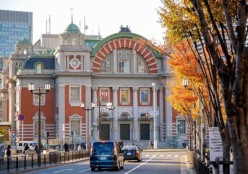 秋の大阪中央公会堂