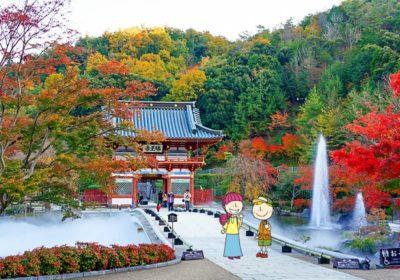 大阪の紅葉 2021到来!ビル並びから公園、寺社と人気スポット紹介