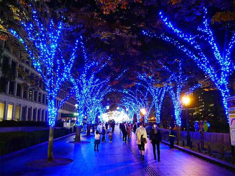大阪光の饗宴の中之島イルミネーションストリート